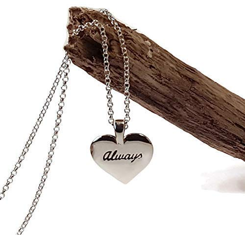 Harry Potter Necklace Harry Potter Jewelry Heart Necklace After All This Time Always Sterling Silver Necklace