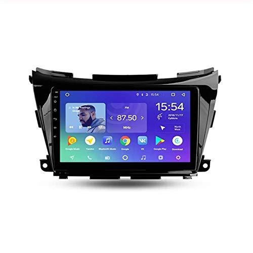 HP CAMP Android-Autoradio-Radio Doppel-Din-Navi für Nissan Murano 3 Z52 2014-2020 GPS-Navigation 9-Zoll-Touchscreen-Kopfeinheit DSP RDS-Multimedia-Player-Videoempfänger,4 core,WiFi 1G+16G