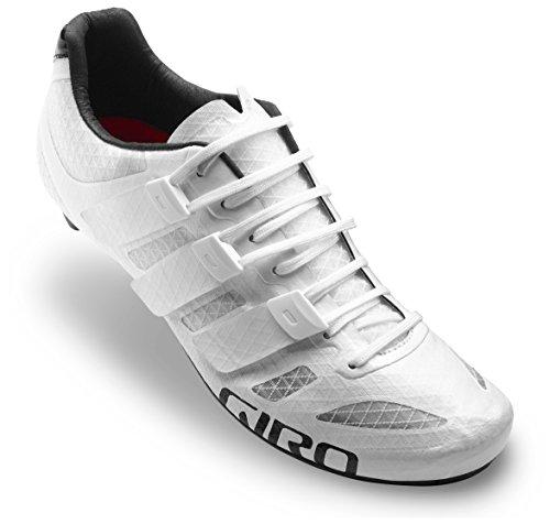 Giro Herren Prolight Techlace Road Radsportschuhe - Rennrad, Weiß (White 000), 44.5 EU