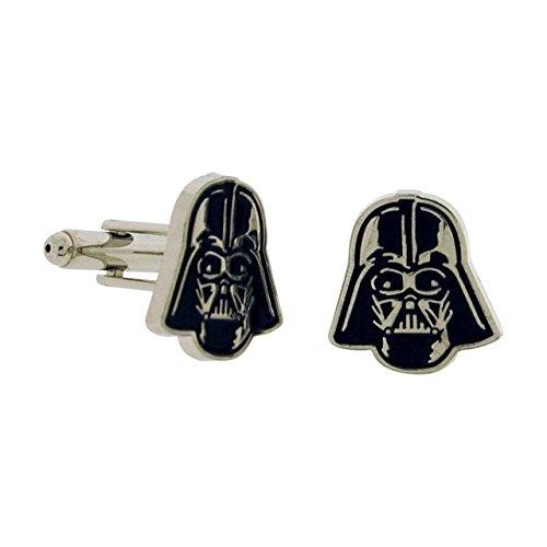 Official Licensed Star Wars Darth Vader Enamel Cufflinks In Gift Box