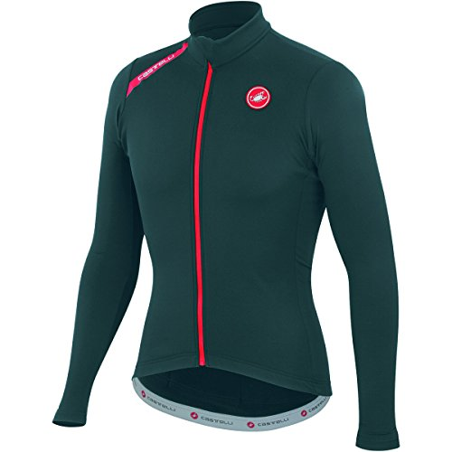 Castelli 2015Hombre puro cremallera completa A14518–Jersey de Ciclismo de manga larga