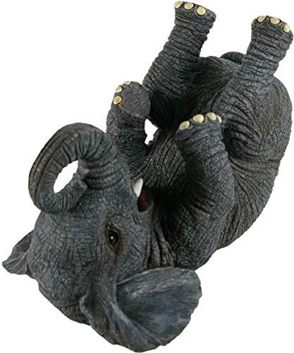 Nemesis Now Guzzlers Elefant Weinflaschenhalter, 21 cm, Grau