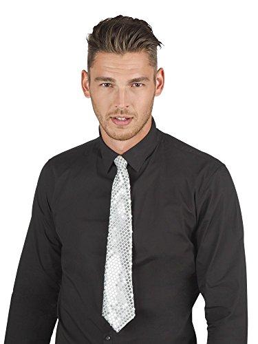 Fiesta Palace - cravate unie blanc 46cm