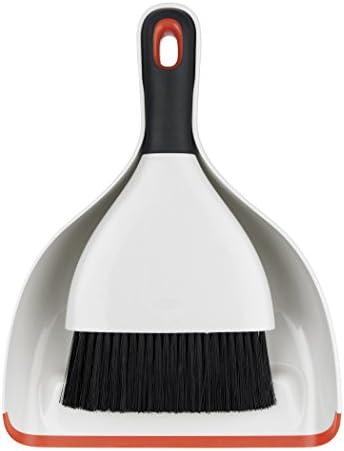 OXO Good Grips Deep Clean Brush Set-Orange, Stainless-Steel, White/Black, A