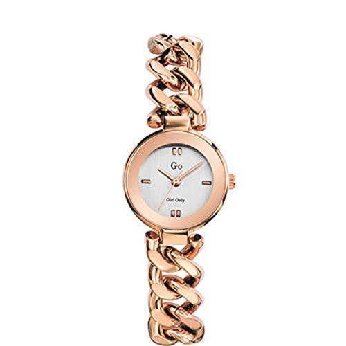 Reloj Cuarzo GO Girl Only para Mujer con Plata Analogico Y Rosa 695014