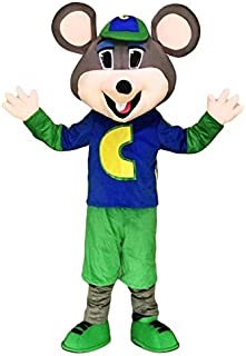 Chuck E. Cheese Mascot Costume Mouse Mascot Costume (Only Head)