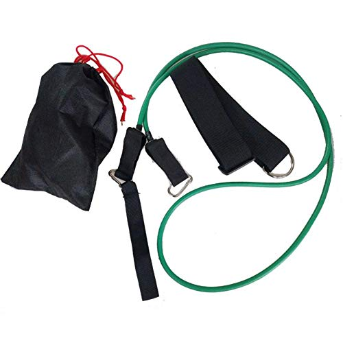 jinclonder Schwimmwiderstand Trainingsgürtel Latex elastisches Seil Schwimmtrainingsgürtel Anzug Schwimmausrüstung Widerstandsband Kleine Größe leicht zu tragen Krafttraining
