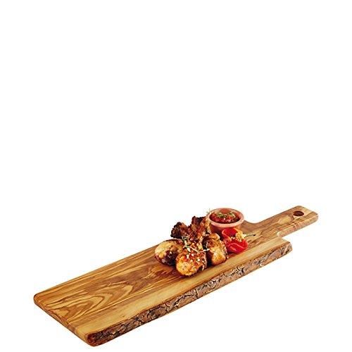PADERNO 41321 – 40 rectangulaire Bois Bois Planche à découper de Cuisine – Planche à découper rectangulaire, Bois, Bois, monótono, 400 mm, 150 mm