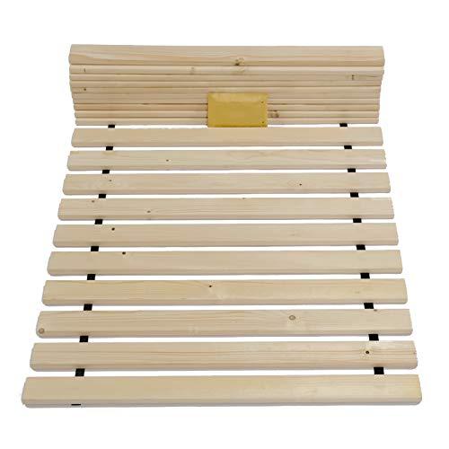 TUGA-Holztech Massivholz 20mm Rollrost Lattenrost Liegefläche 90x200cm bis weit über 200Kg Flächenlast Qualitätsarbeit aus Deutschland unbehandeltes Naturprodukt Garantie 5 Jahre