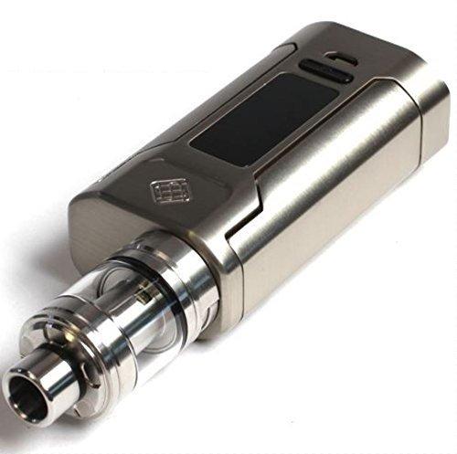 Wismec Sinuous P228 Promodore Kit 228W TC Mod With Elabo 4.6ml Tank (Brushed Silver) - kein Nikotin kein Tabak