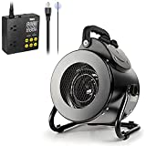 iPower Electric Heater Fan with Digital...