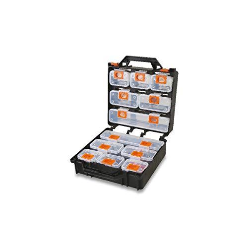 Beta 20800000 Valigia Organizer con 12 Vaschette Asportabili, Vuota, 300 X 145 X 330 Mm