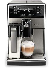 Philips Saeco Espressomachine PicoBaristo - 10 Koffievariëteiten - Keramische molens - Verwijderbare koffiezetunit - AquaClean-filter - Quick Milk Clean - SM5473/10