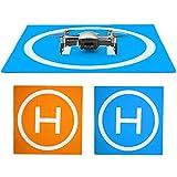 PGYTECH HUAYE Mavic 2 Series Waterproof Landing Pad for Drones Quadcopter Parts Drone Accessories Landing Gear for DJI Mavic 2 Pro/Mavic 2 Zoom/Mavic Pro Phantom 2/3/4/Pro Inspire 1/2 (Square(50cm))
