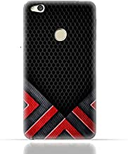 Huawei P8 Lite 2017 / Huawei P9 Lite 2017 / Huawei Honor 8 Lite/Huawei GR3 2017 TPU Silicone Case With Abstract Mesh Pattern Design.