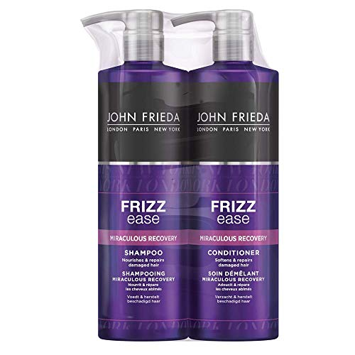 John Frieda Hair Repairing Shampoo and Conditioner, 2 x 500 ml