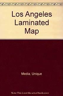 Los Angeles Laminated Map