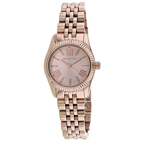 Michael Kors MK3875 Petite Lexington Rose Gold-Ton- Damen-Uhr
