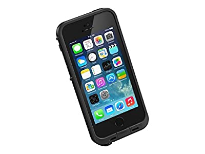 NEW LifeProof FR? SERIES Waterproof Case for iPhone 5/5s/SE - Retail Packaging - BLACK