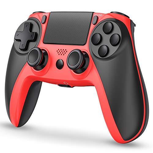 Kydlan PS4 Controller Wireless, Playstation 4 Controller Wireless, PS4 Remote Control for PS4 Pro/Playstation 4/PS4 Slim with Touch Panel/Audio Function/Dual Shock/6-Axies Sensor
