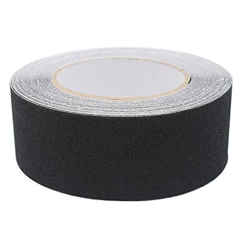 Gebildet 5cm x 10m Robustes Antirutsch Klebeband/Antislip tape/Grip Tape in schwarz,1 Stück