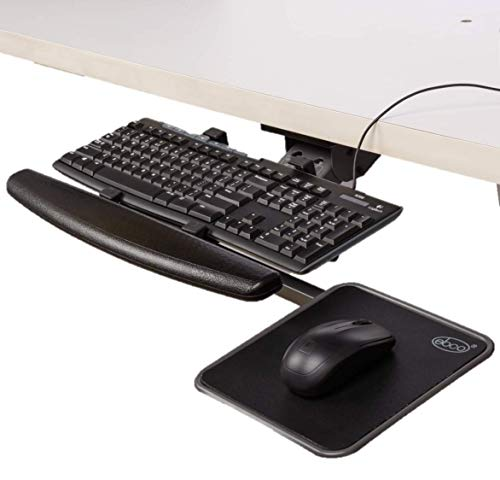 Worksmart Articulated Keyboard Station with Mouse Tray