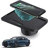 QXIAO Chargeur sans Fil Voiture pour BMW 3 Series M3 2016-2018 4 Series M4 2018-2020 Console...