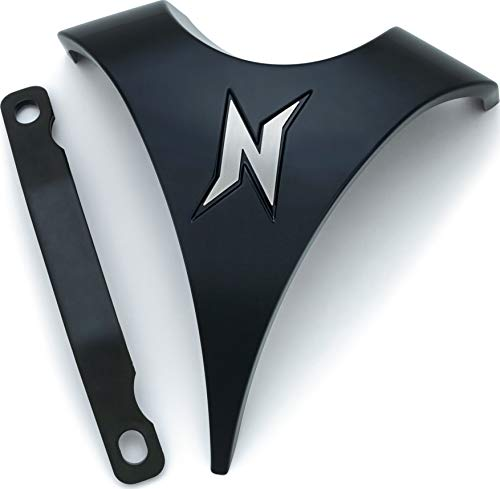 Kuryakyn 5695 Motorcycle Accent Accessory: Signature Series Horn Replacement Accent by Jim Nasi for 2008-16 Harley-Davidson Motorcycles, Gloss Black