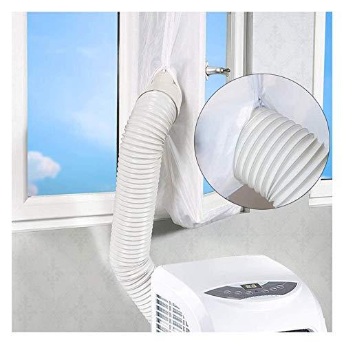 Buycitky Fensterabdichtung für Klimageräte,Fensterabdichtung für Mobile Klimageräte und Ablufttrockner,400CM Klimaanlage Fensterabdichtung Hot Airstop Klimaanlage