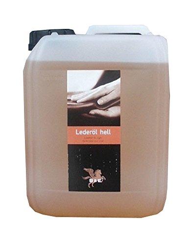 Lederöl hell Kanister, 2500 ml 2,5 Liter für Glattleder aller Art