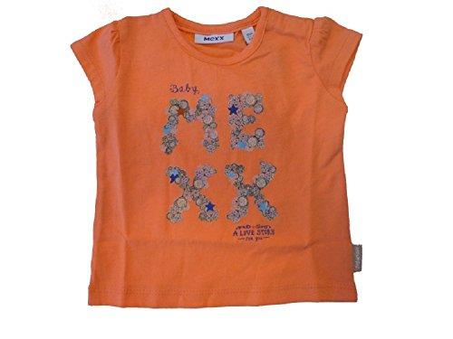 Mexx – Baby T-Shirt Géorgie Peach – Fille Taille 56–68 - Rouge - 68