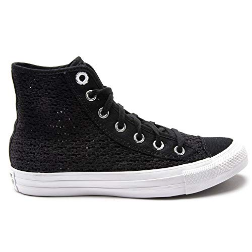 Converse All Star Hi Getaway - Zapatillas deportivas para mujer, color negro, (negro), 37 EU