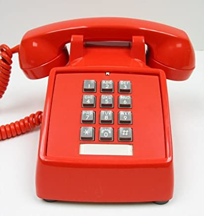 Industrial Hot Dialer Wall Phone RED by HQTelecom