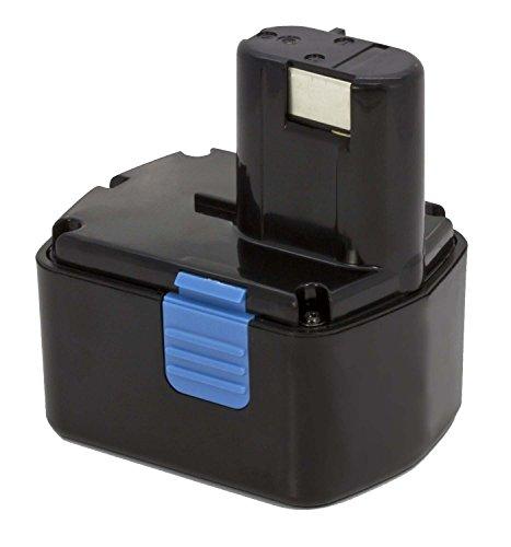 Amsahr per Power Tools Batteria per HITACHI EB1412S EB1414EB1414L, EB1414S, EB1430R, EB14B–(3.0Ah, 14.4V), 1pezzi, Hit-14.4(a)