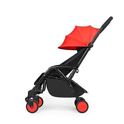 Ickle Bubba–Aurora ligero bebé cochecito, cochecito de bebé y buggy carrito–disponible en 4colores: amarillo, rojo, negro o gris
