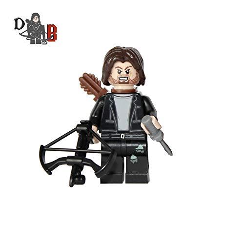 Demonhunter Bricks Custom The Walking Dead Daryl Dixon mit Maßgefertigt Armbrust