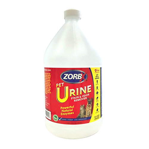 ZORBX New Pet Urine Stain Remover & Odor Eliminator, Advanced Natural Enzyme...