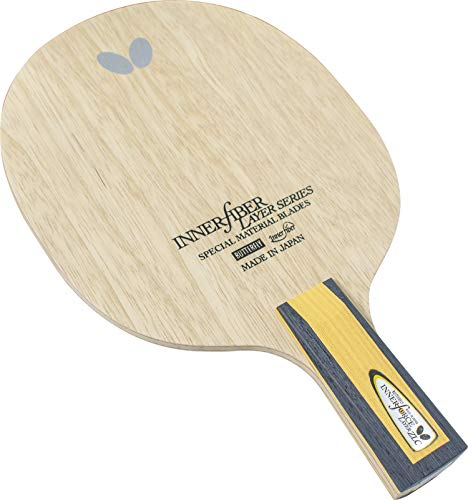 Butterfly Innerforce Layer ZLC CS Blade Table Tennis Blade - Chinese Penhold Blade Penhold Blade - Good for Traditional or Reverse Penhold Style - Made in Japan