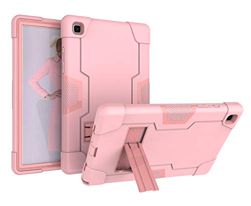 Capa para Samsung Galaxy Tab A7 10.4 2020, DOOGE com três camadas Armor Defender, resistente, com absorção de choque, antiarranhões, resistente, com suporte para Galaxy Tab A7 de 10,4 polegadas [SM-T500/T505/T507]