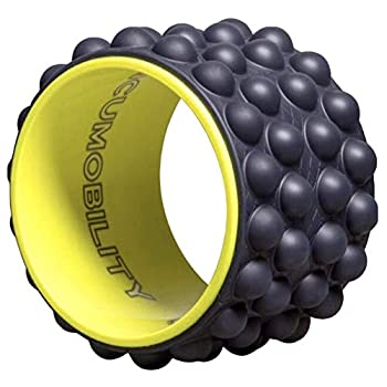 The Ultimate Back Roller  Acumobility Myofascial Release Trigger Point Yoga Wheel Foam Roller Back Pain Yoga Wheel for Back Pain Back Massager Deep Tissue Massage Exercise Mobility