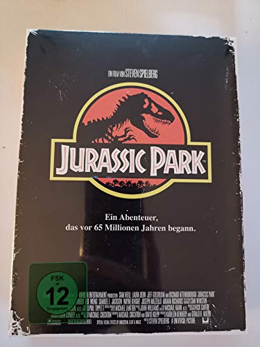 JURASSIC PARK (Limited Tape Edition - 1111 Stk) VHS-Design - Blu-ray