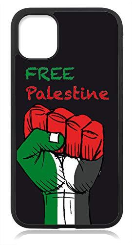 Kompatibel mit iPhone 12 PRO MAX Hülle Silikon, Handyhülle für iPhone 12 PRO MAX Schutzhülle Slim Case Cover Palästina Palestine Fahne Flagge