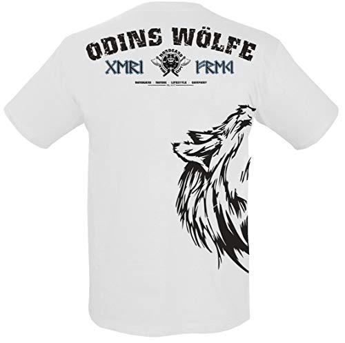 NORDGARD Viking Shirt FREKI, Weiß, S