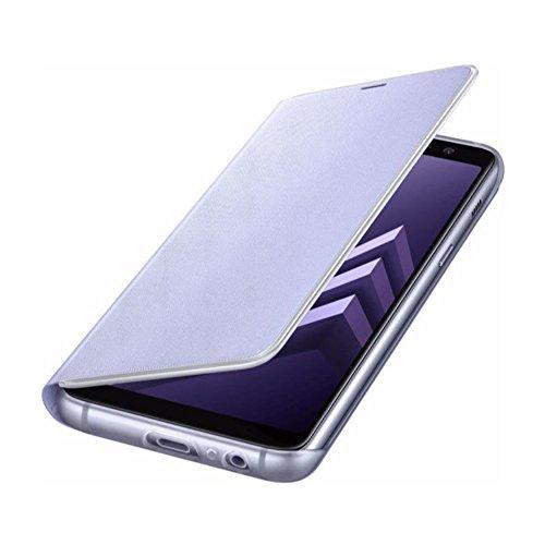 Samsung EF-FA530PVEGWW Neon Flip Cover für Galaxy A8 Orchid Grau