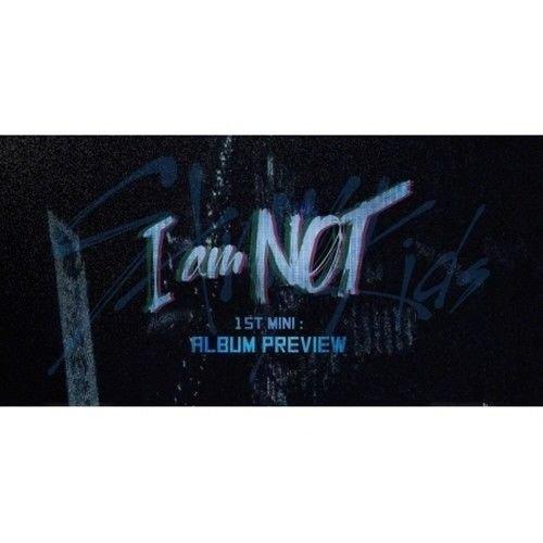 Stray Kids - [I Am Not] 1st Mini Album 2 Ver SET CD+Photobook+1p Childhood PhotoCard+1p Unit PhotoCard+1p Selfie PhotoCard+1p Pre-Order Item(Post) K-POP Sealed