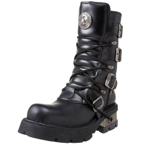 New Rock Unisex-Erwachsene M 373 S1 Stiefel, Schwarz (Noir) 36 EU