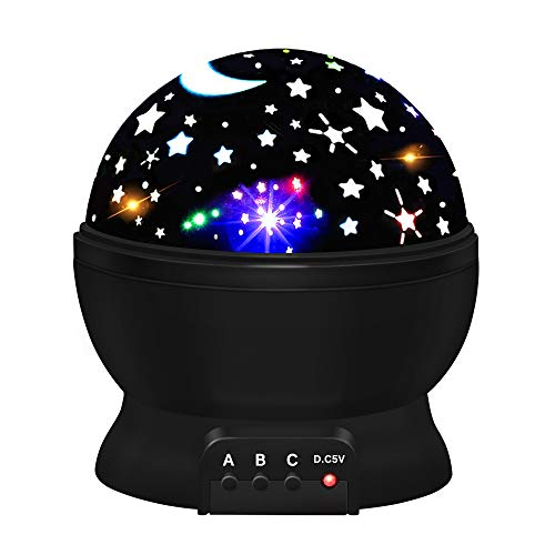 Amusing Moon Star Project Light for Kids by ATOPDREAM