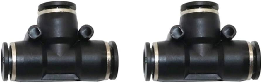 Non-leak Hose Quick Coupling Max 86% OFF 6mm Elbow Straight Conne Tee New life