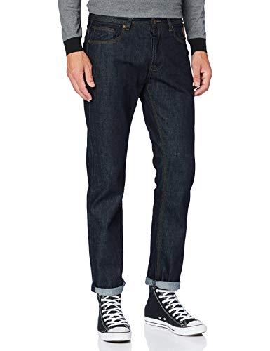 King Kerosin Herren Denim 5 Pocket Jeans Washed Robin