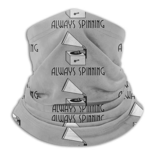 Hokzonb Always Spinning Multifunction Neck Gaiter Scarf caliente Outdoor Sports Headwear Headband Bandana Bib Hair banda de esquí Mask for Men Women